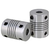 "Flexible Parallel CNC  Coupling D25-L30-12.7x1/2"" inch to 17mm"