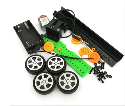 DIY Batteries Operated Toy Car Kit