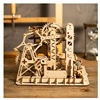 DIY Waterwheel Coaster Wood 3D Puzzle Toy Kit