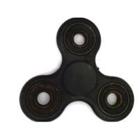 Black Fidget Hand Spinners Toy