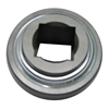 "GW216PP2 Agriculture Heavy Duty Disc Harrow Bearing, 2 1/4"" Inch Square Bore, Relubricable