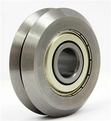 Linear Motion Guideway 4x24x10mm Stainless Steel Track  V-Slot Profile Roller Bearing