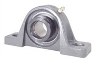 "HCP202-9 Pillow Block Unit 9/16"" Inch Bore Screw Mounted Bearing with Eccentric Collar Lock"