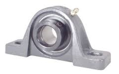 "1 1/8"" Bearing HCP206-18 Pillow Block Cast Housing Mounted Bearing with Eccentric Collar Lock"