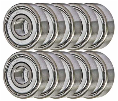 14 Sealed Generation 1 Xmods Bearing 3x6x2 Shielded Miniature Bearings