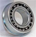 "F1232 Unground Flanged Full Complement Bearing 3/8""x1""x7/16"" Inch"