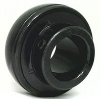 "UC202-9-BLK Oxide Plated Plated Insert 9/16"" Bore Bearing"