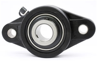 "UCNFL201-8 1/2"" Inch Bearing Flanged Housing 2 Bolt Mounted Bearings"