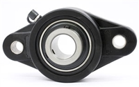 UCNFL205 25mm Bearing Flanged Cast Housing 2 Bolt Mounted Bearings