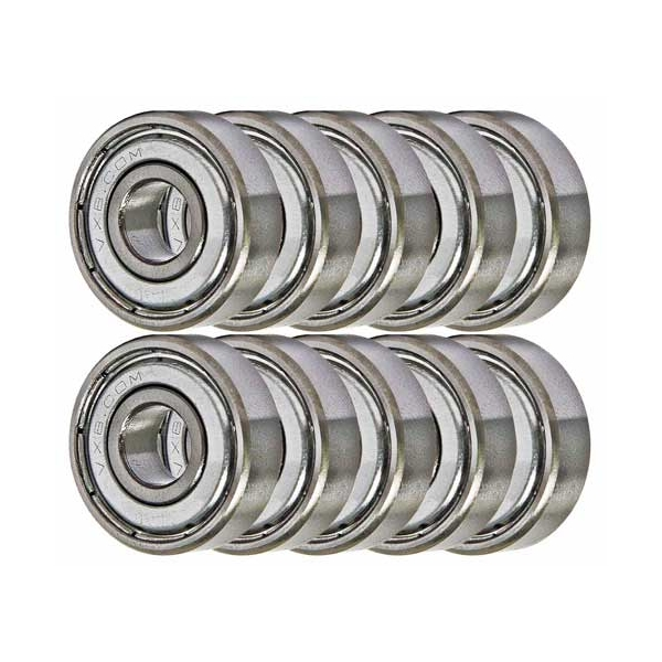 "1//8/"" x 3//8/"" x 5//32/"" 10 Pcs R2ZZ Metal Shielded Ball Bearing Bearings R2 R2z"