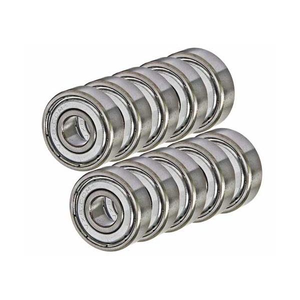 "Lot 10 Sealed Bearing 0.25/"" x 0.5/"" inch Ball Bearings"