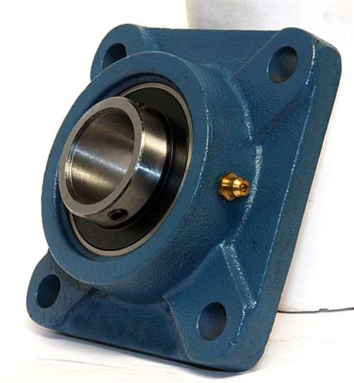 3 4 Square Bore Bearings : Quot bearing ucf square flanged cast housing