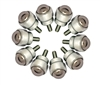 Stud Ball Transfer M8x1.25 Bolt Type Ball Transfer Unit pack of 10 Bearing