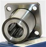 "SWK64 NB Systems 4"" inch Ball Bushings Square Flange Linear Motion"