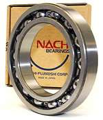 6000 Nachi Bearing Open C3 Japan 10x26x8