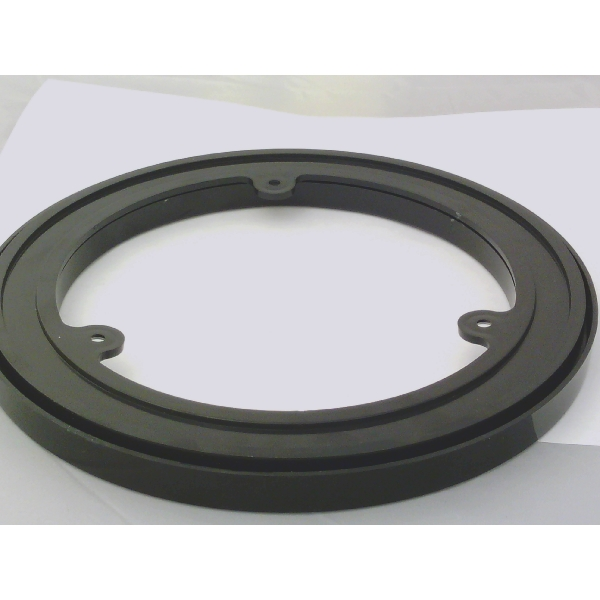 8 Inch Black Plastic Lazy Susan Turntable Bearings Larger Photo