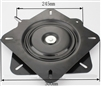 "176-220 lbs Capacity 10"" Swivel Lazy Susan Bearing 0.787"" Thick Turntable Bearing"