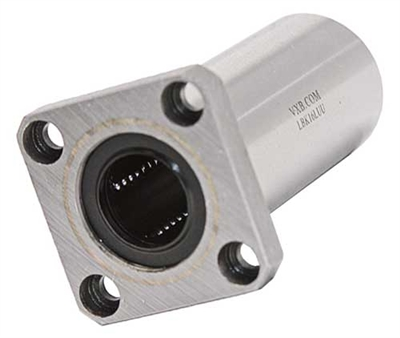 20mm Long Square Flanged Bushing Linear Motion LBEK20LUU