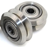 Linear Motion Guide Way 5x24.5x5.6mm V Groove Track Roller Bearing