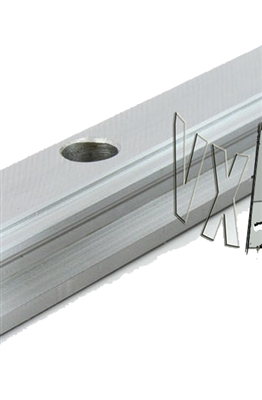 "25mm 61"" Square Rail Slide Unit Linear Motion"