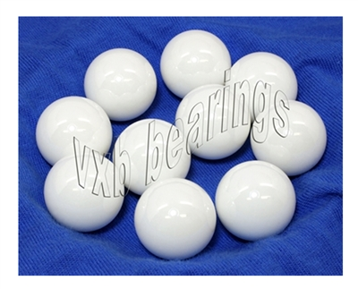"10 23/32"" inch = 18.256mm Loose Ceramic Balls G20 ZrO2 Bearing Balls"