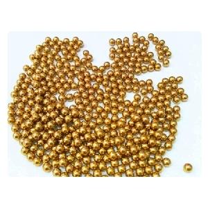 "Five 7//16/"" Inch G200 Precision Brass Bearing Balls"