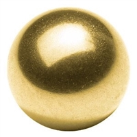 "10mm = 0.393"" Inches Diameter Loose Solid Bronze/Brass Bearing Balls"