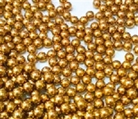"Pack of 10 Bearing Balls  1mm = 0.039"" Inches Diameter Loose Solid Bronze/brass"