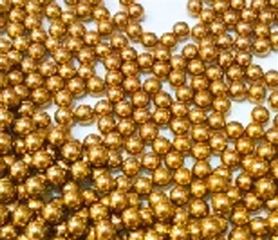 "6mm = 0.236/"" Inches Diameter Loose Solid Bronze//Brass Pack of 10 Bearing Balls"