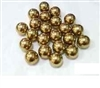 "5mm = 0.196"" Inches Diameter Loose Solid Bronze/Brass Pack of 10 Bearings Balls"