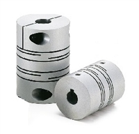 NBK Japan MST-25-6-10 Slit type Flexible Coupling with Set Screw