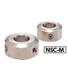 NSC-12-8-M NBK Set Collar - Set Screw Type. Made in Japan