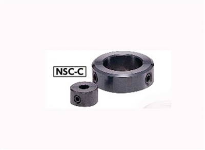 NSC-20-7-C NBK Set Collar - Set Screw Type - Steel  NBK  Ferrosoferric Oxide Film Pack of 1 Collar Made in Japan