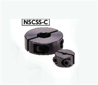 NSC-3-6-SP2 NBK Steel Set Collar with Installation Hole - Set Screw Type -  NBK - One Collar Made in Japan