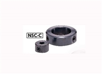 NSC-6-8-C NBK Set Collar - Set Screw Type - Steel  NBK  Ferrosoferric Oxide Film Pack of 1 Collar Made in Japan