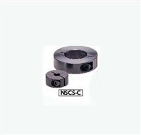 NSCS-10-12-C  NBK Set Collar - Clamping Type - Steel  NBK  Ferrosoferric Oxide Film - Black Pack of 1 Collar Made in Japan
