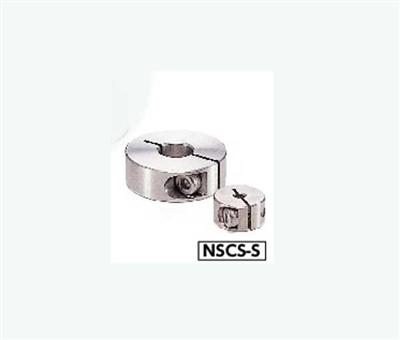NSCS-10-12-S NBK Collar Clamping Type - Steel  Hex Socket Head Cap Screw  One Collar Made in Japan