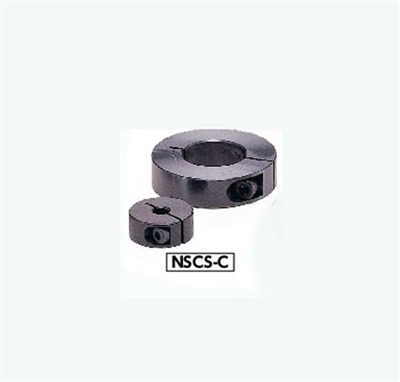 NSCS-6-10-C NBK Set Collar - Clamping Type - Steel  NBK  Ferrosoferric Oxide Film - Black Pack of 1 Collar Made in Japan