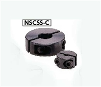NSCSS-10-15-C NBK Set Collar  Split  type - Steel  Ferrosoferric Oxide Film One Collar Made in Japan