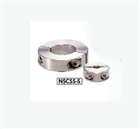 NSCSS-15-10-S NBK Set Collar  Split  type - Stainless Steel One Collar Made in Japan