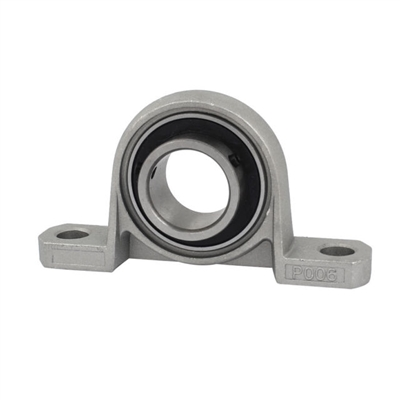 35mm shaft Zinc Alloy mounted bearing  P007 pillow block bearing housing