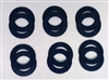 A Pack of 12 Blue seals for 608 Bearings