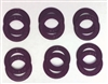 A Pack of 12 Purple seals for 608 Bearings