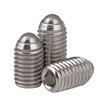 M4 12mm Long Stainless Steel Ball Plunger / Hex Head