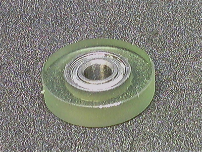 PU0418-5 Polyurethane Rubber Bearing 4x18x5mm Shielded Miniature