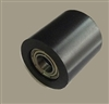 PU10x30x30ZZ Black Nylon Bearing 10x30x30 Metal Shielded