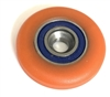 PU5X27X6-2RS Polyurethane Rubber Bearing 5x27x6 C3 Sealed Miniature