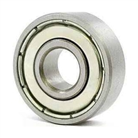"R2 ZZ Shielded 1/8""x3/8""x5/32"" inch Miniature Bearing"