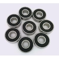 8 S608-2RS Skateboard Stainless Steel  Ceramic Si3N4 ABEC-7 Sealed Ball Bearing 8x22x7