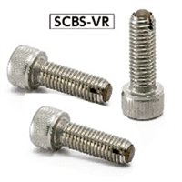 SCBS-M5-20-VR NBK Clamping Cap Screws with Ventilation Hole Made in Japan